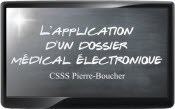 L'application d'un dossier médical électronique